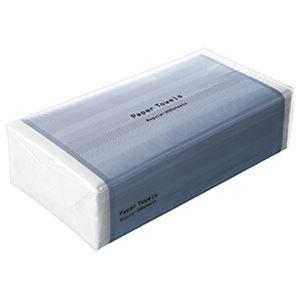 その他 (まとめ)TANOSEE ペーパータオル ハードタイプ(レギュラー)200枚/パック 1ケース(30パック)【×3セット】 ds-2311469