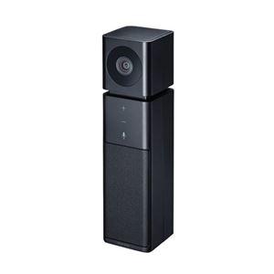 その他 サンワサプライ カメラ内蔵USBスピーカーフォン(ブラック) CMS-V47BK ds-2330126