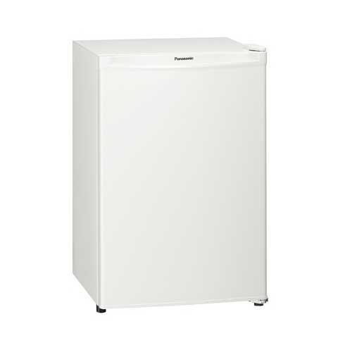 パナソニック 75L パーソナルノンフロン冷蔵庫 右開き オフホワイト NR-A80D-W【納期目安:1週間】