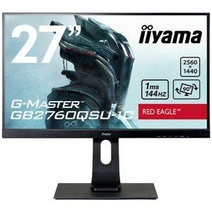 送料無料 人気ブランド多数対象 その他 iiyama 27型ゲーミング液晶ディスプレイ G-MASTER 供え GB2760QSU-1C 144Hz対応TNパネル WQHD 回転 DVI-D ds-2339904 マーベルブラック DP 昇降 GB2760QSU-B1C HDMI