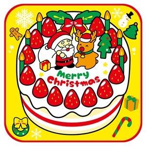 送料無料 5%OFF その他 まとめ ※アウトレット品 クリスマスタオルハンカチ ×50セット クリスマスケーキ ds-2344518