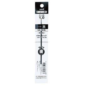 送料無料 その他 まとめ 三菱鉛筆 低価格化 油性ボールペン 替芯 1.0mm ×300セット 太字用 ds-2367208 SA10CN.24 VERY楽ノック 超歓迎された 1本 黒