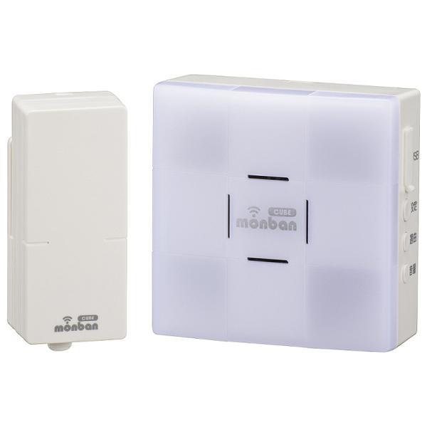 送料無料 オーム電機 送料無料限定セール中 春の新作 ワイヤレスチャイムセット 音センサー送信機+光フラッシュ受信機 OCH-SET26-BLUE 電池
