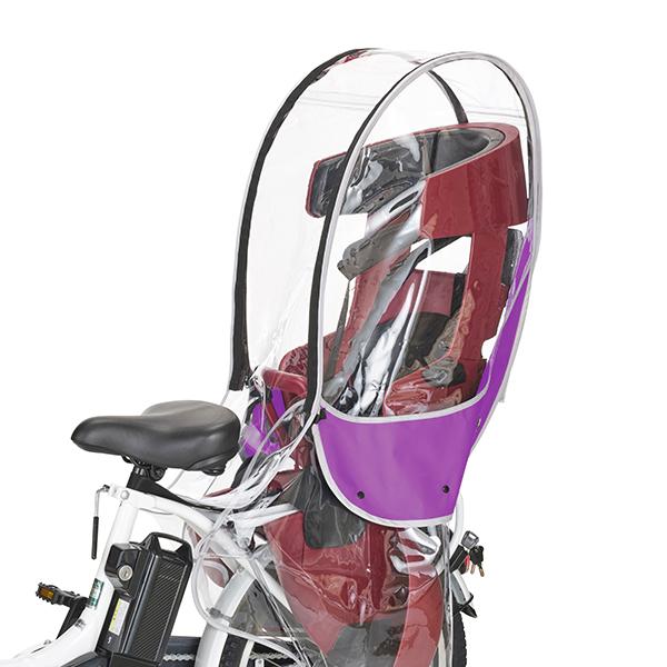 送料無料 OGK 技研 自転車 リアチャイルドレインカバー 引き出物 RCR-009 パープル 正規逆輸入品 OTM-60410 VerB 納期目安:1週間