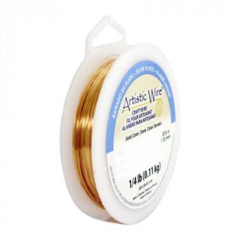 【送料無料】 Artistic Wire(アーティスティックワイヤー) ロングスプールス(業務用) ゴールド 0.3mm×約151m 28 CMLF-1601596【納期目安:1週間】