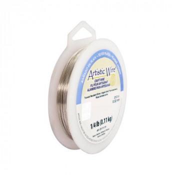 【送料無料】 Artistic Wire(アーティスティックワイヤー) ロングスプールス(業務用) ノンターニッシュシルバー 0.3mm×約151m 28 CMLF-1601589【納期目安:1週間】