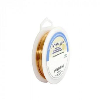 【送料無料】 Artistic Wire(アーティスティックワイヤー) ロングスプールス(業務用) ゴールド 0.4mm×約96m 26 CMLF-1601595【納期目安:1週間】