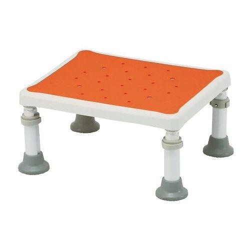 【送料無料】 浴槽台(軽量タイプ ユクリア) レギュラー オレンジ 1826 7-5282-21【納期目安:1週間】