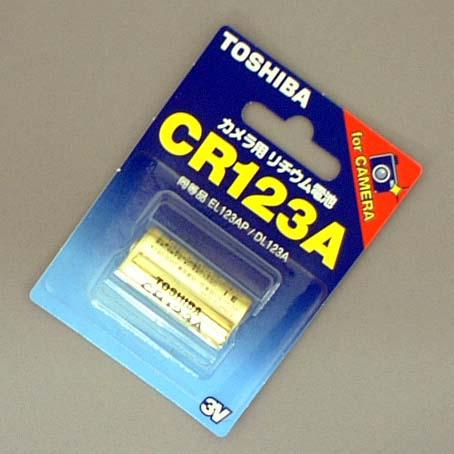 TOSHIBA CR123A G 100個