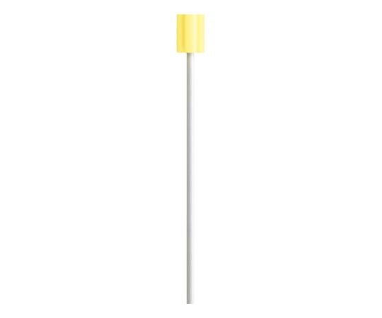 カワモト 口腔ケアスポンジ マウスピュア プラスチック軸M・ふつう 50本x10箱 4987601431388
