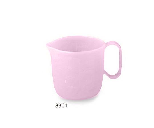 介護 医療用品 食事 流動食コップ 470mL 8301 本体 フタ別売 新品 店舗 ピンク5個