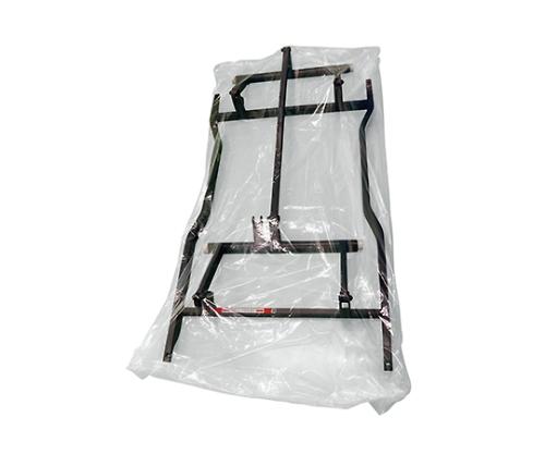 介護 医療用品 ベッド関連 ベース用袋 商店 未使用品 リクライニング車椅子用 箱 100枚 KG-BS-120150 透明 0.045×1200×1500mm
