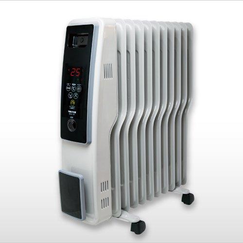 テクノス S型11枚フィン オイルヒーター 500/700/1200W切替式 TEKNOS TOH-D1101