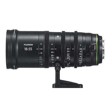 富士フィルム フジノンレンズ MKX18-55mmT2.9【6月下旬発売予定】