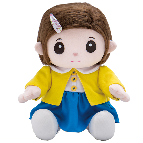 おしゃべり人形で脳トレ【無料ラッピング承ります】ものしりパートナー いっしょに脳トレ おりこうのんちゃん