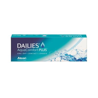 【4箱セット】【送料無料】デイリーズアクア コンフォートプラス 1日使い捨てコンタクトレンズ 30枚入 4箱セット(ワンデー/1day)(DAILIES Aqua Comfort PLUS)