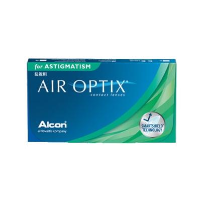 【6箱セット】乱視用】【送料無料】エアオプティクス 乱視用 2週間使い捨てコンタクトレンズ 6枚入 6箱セット(2ウィーク/2weekトーリック)(AIR OPTIX ASTIGMATISM)