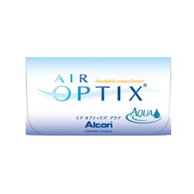 【4箱セット】【ネコポス発送・送料無料】エアオプティクスアクア 2週間使い捨てコンタクトレンズ 6枚入 4箱セット(2week/2ウィーク)(AIR OPTIX AQUA)