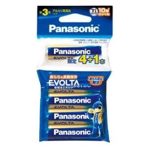 パナソニック エボルタ 単3形アルカリ乾電池 4+1本パック LR6EJSP/5H 50個(250本)セット