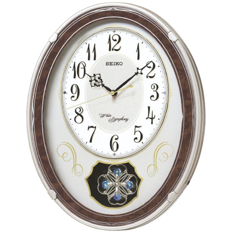 【ギフト包装・のし無料】セイコー 電波メロディ掛時計 AM259B