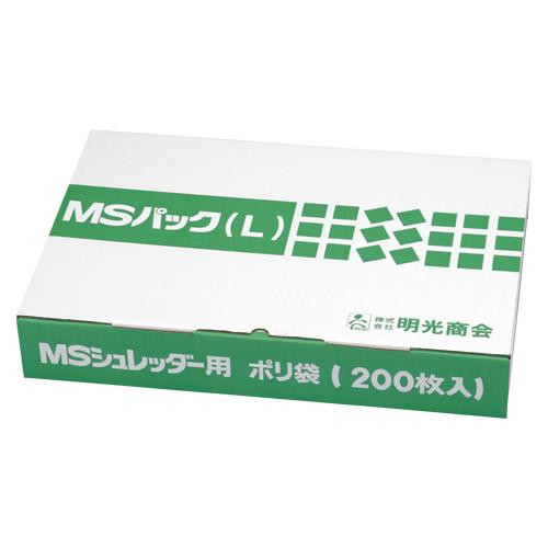 明光商会 MSパック透明L【200枚入】 L