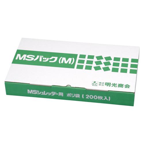 明光商会 MSパック透明M【200枚入】 M