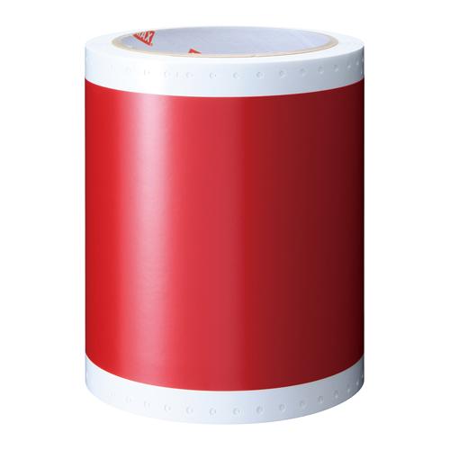 マックス ビーポップラベルプリンタラベル赤 SL-S113N2
