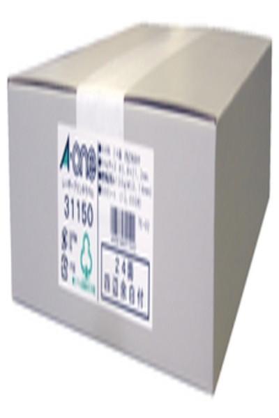 オフィス用品 再再販 文具 エーワン 4906186311502 40%OFFの激安セール レーザーPラベル24面500シート