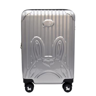 RODY キャリーケース 機内持ち込みサイズ シルバー SILVER TSAロック搭載【メーカー直送品・代引き・後払い決済不可】