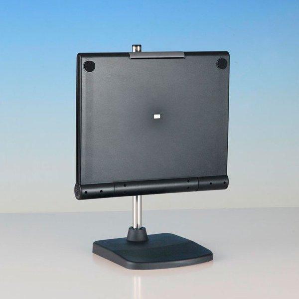東京セイル 卓上型スタンド付三面鏡 セイルミラー ブラック MX-360ZS スリーウェイミラー 360度回転三面鏡