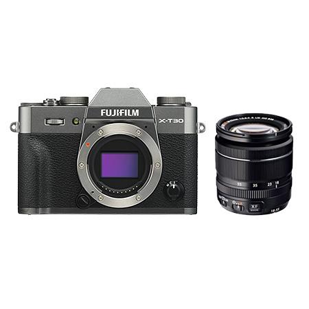富士フィルムミラーレス一眼レフデジタルカメラ X-T30LK-CS / XF18-55mmF2.8-4 R LM OIS チャコールシルバー