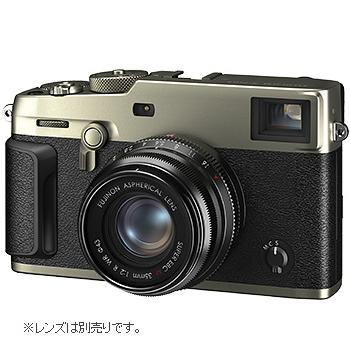富士フィルム(フジフィルム)デジタルカメラ X-Pro3-DSボディ(シルバー)