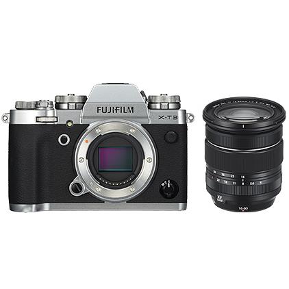 富士フィルム デジタルカメラ X-T3 / XF16-80mmF4 R OIS WRレンズキットシルバー X-T3LK-1680-S