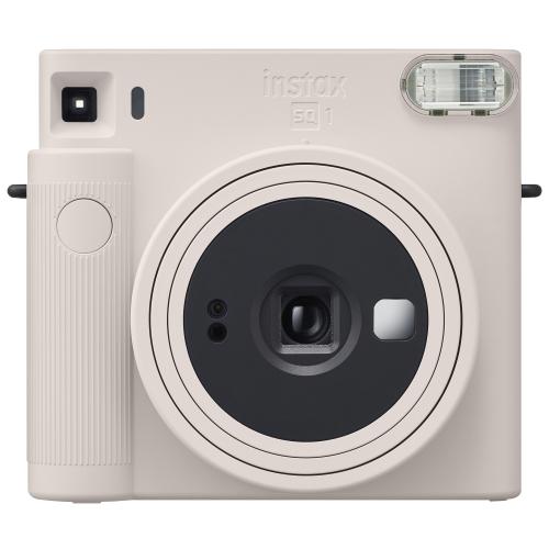 富士フィルム チェキスクエアカメラ instax 商い SQ1 メーカー再生品 チョークホワイト SQUARE