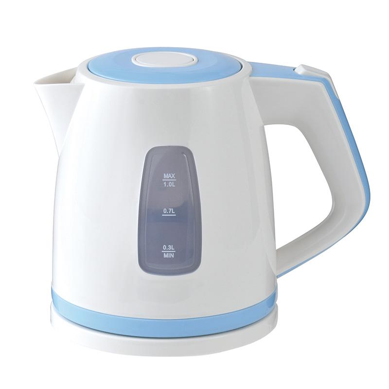 スイッチひとつで簡単にお湯が沸く OHM 爆安 予約販売 オーム電機 電気ケトル COK-WS90A-A 調理家電 ブルー