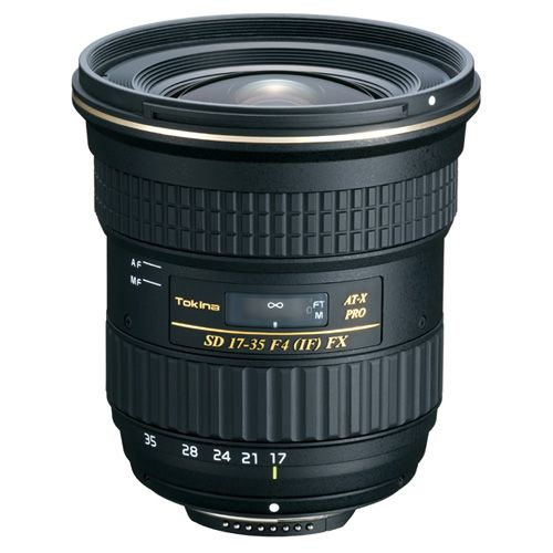 Tokina トキナー 広角レンズ AT-X 17-35 F4 PRO FX キヤノン用