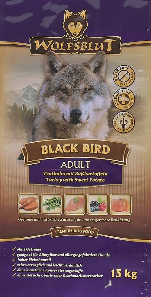 wolfsblut ウルフブラット ブラックバード・アダルト 15kg【全国送料無料】