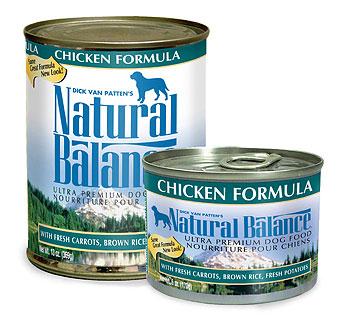 ナチュラルバランス チキン&ブラウンライス缶 ドッグフード 6オンス(170g) ×24缶【全国送料無料】