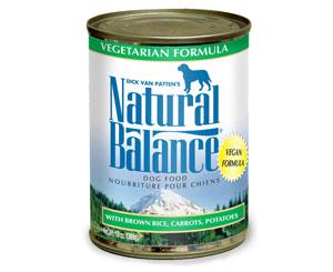 ナチュラルバランス ベジタリアン缶ドッグフード 13オンス(369g) ×24缶【全国送料無料】