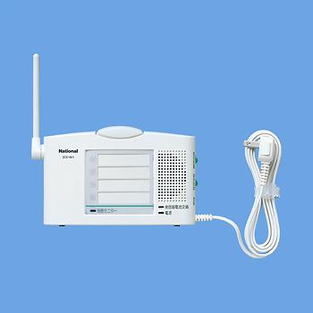 ECE1601P パナソニック 小電力型ワイヤレスコール卓上受信器(受信4表示付)