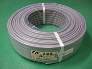 VVF2_6x3-100M VVF2.6mm×3芯(100m)