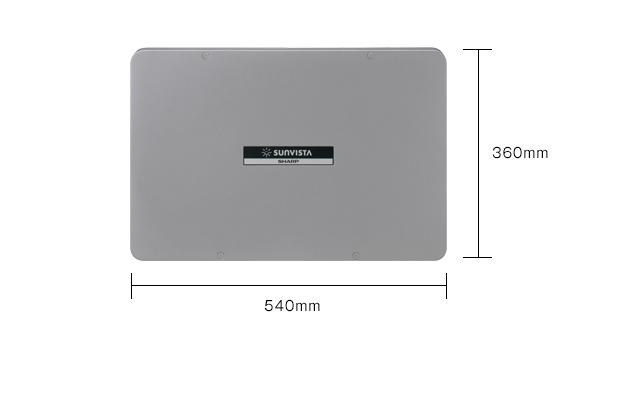 【ポイント最大23倍12/4~11エントリー必須】JH-55JB4 シャープ 太陽光発電用パワーコンディショナー パワコン(5.5kWタイプ、屋内・屋外兼用)