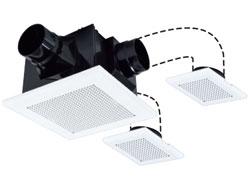 VD-15ZFFLC10 換気扇 三菱 ダクト用換気扇(低騒音・3部屋換気用)