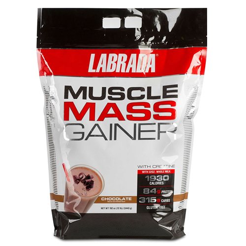 ●LABRADA Nutrition Muscle Mass Gainer Chocolate 5443g(チョコレート味)