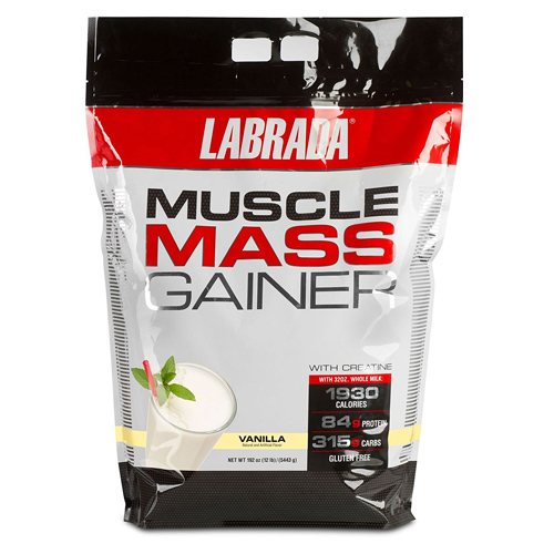 ★☆LABRADA Nutrition Muscle Mass Gainer Vanilla 5443g(バニラ味)