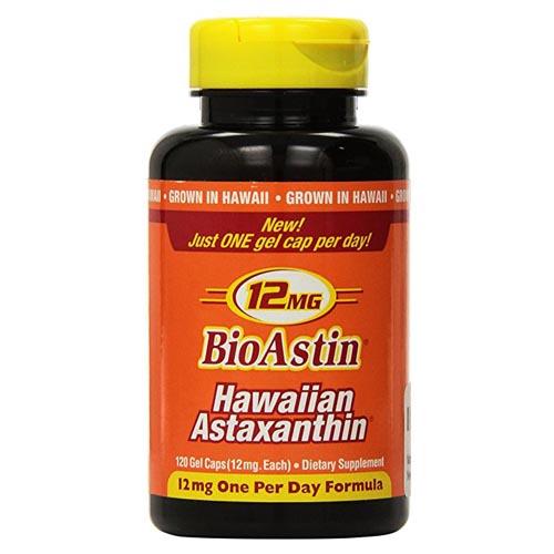 Nutrex - BioAstin Hawaiian Astaxanthin 12 mg - 120カプセル【KM】