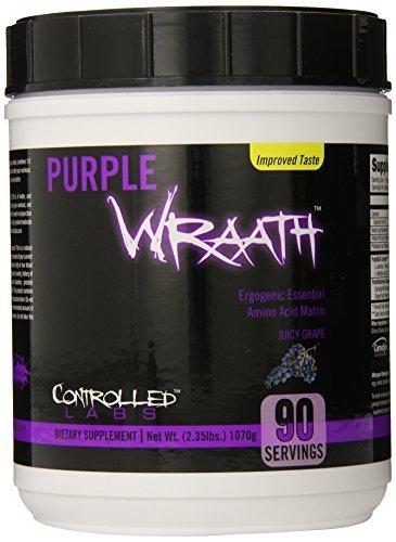 ●Controlled Labs Purple Wraath(パープルラース) ジューシーグレープ 1070g