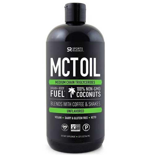 ●Premium MCTオイル 100%ココナッツオーガニック油 946ml