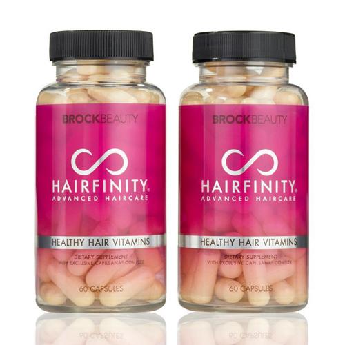 ●Hairfinity(ヘアフィニティ) Healthy Hair Vitamins 60カプセル×2個 / 健康な髪をサポート