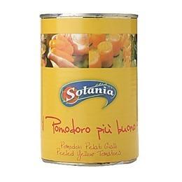 流行のアイテム 引き出物 ソラニア ポモドーリ ペラティ 黄 400g ジャッリ